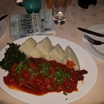 Tasty fish with ugali