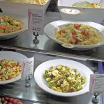 Various creative salad / entree for a variety of flavors