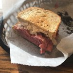 The Reuben is AWESOME! Likewise even their regular sandwiches are quite yummy. Def try the Reube