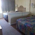 Bedroom of Sleep 6 unit.