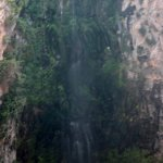 Upper half of the waterfall