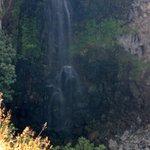 Lower half of the waterfall