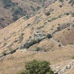 Overlook to the village of Gamla