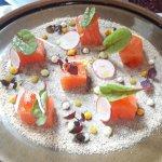 Saumon agrumes