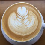 Beautiful lattee art in every cup! Our Barista Lael made this masterpiece!