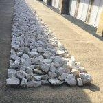 Richard Long  White rock line