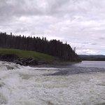 panoramatická fotografie Tannforsen