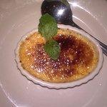 Cream brulee: Nice