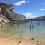 Photo de Agios Pavlos Beach (Saint Paul)
