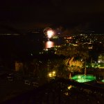 Evening fireworks in Sorrento
