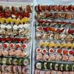 bendeija de sushis especiais e gourmet