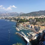 View of Sorrento from the Hotel Belair (15 - 20 minute walk to downtown Sorrento)