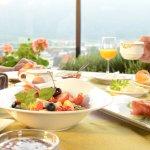 Reichhaltiges Schlosshotel Energie-Frühstück