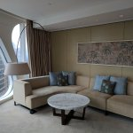 seating area in junior suite