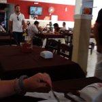 Interior do restaurante Paladar Mineiro