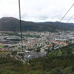 View while in the cable car