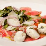 Mozzarella with Carpaccio