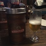 Serramalte... I was told local made beer
