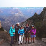 Team at Top of South Kaiba Trail