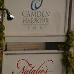 Camden Harbour Inn & Natalie's Entrance Signs