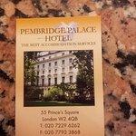 Photo of Pembridge Palace Hotel