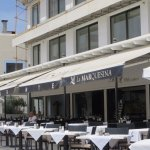 The Restaurant is well-located down on the Seafront