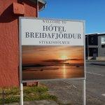 Foto de Hotel Breidafjordur