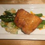 Maple glazed salmon. Amazing!