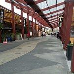 Looking back towards town - Eat Street - lots of restaurants