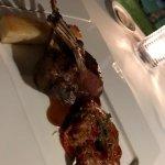 NZ Lamb was delicious.