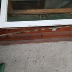 Loose Weather Stripping on Window