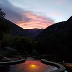 Sunrise hot spring soak. 10++