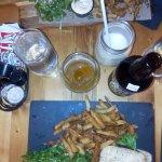 Burger et Fish&Chips
