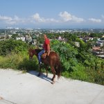 Seeing Puerto Vallarta from the mountains on horseback