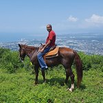 Even a more grand view of Puerto Vallarta on horseback