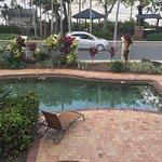 Perfect location, beautiful beach Very helpful staff, has all you need and pool small but clean