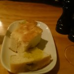 Nive bread and olive oil