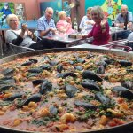 Seafood Paella at the Port Lincoln YHA