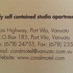 Coral Motel & Apartments resmi