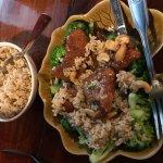 My food - Honey shrimp...yum!