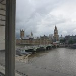 view of Big Ben from our room