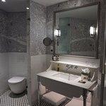 Contemporary designed bathroom