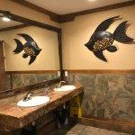 Nice restrooms!