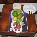 Fruit Plate in the room