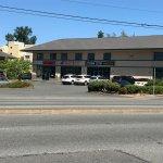 From across the street, it looks like a motel building!