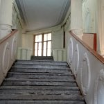 You are entering a 19th century building in Russia