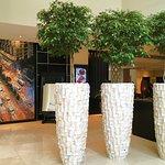 Lobby and art