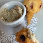 cranberry chicken corn fritters for appitizers