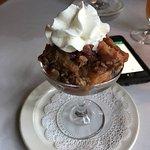 apple bread pudding for dessert
