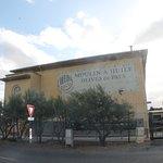 l'établissement du moulin à huile d'olive